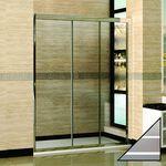 Душевая дверь в нишу RGW Classic CL-11 130 см матовая полоска