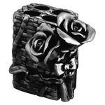 Стакан Art&Max Rose AM-0091B-T для зубных щеток