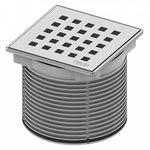 Решетка Tece TECEdrainpoint S 366 00 07 quadratum с монтажным элементом