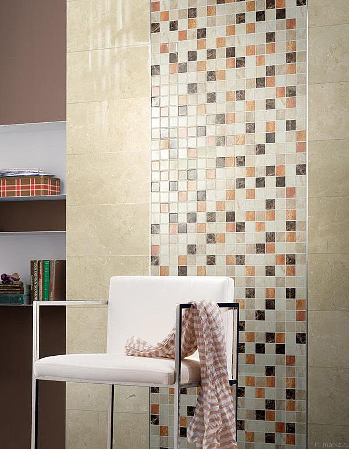 Ceramic tile dado
