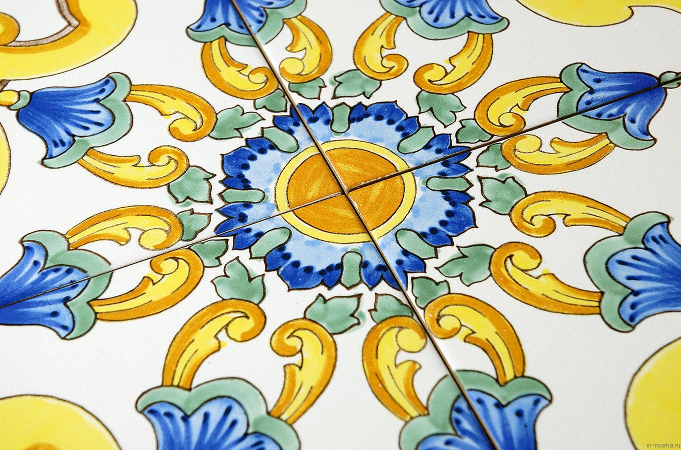 коллекция Ceramica Artistica Vietrese от фабрики Giovanni De Maio