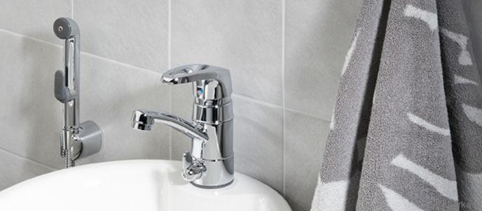 Смеситель Oras Safira 1014 для кухни с гигиеническим душем
