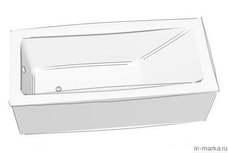 Стальная ванна Bette Form Safe 3970 2GR, AD