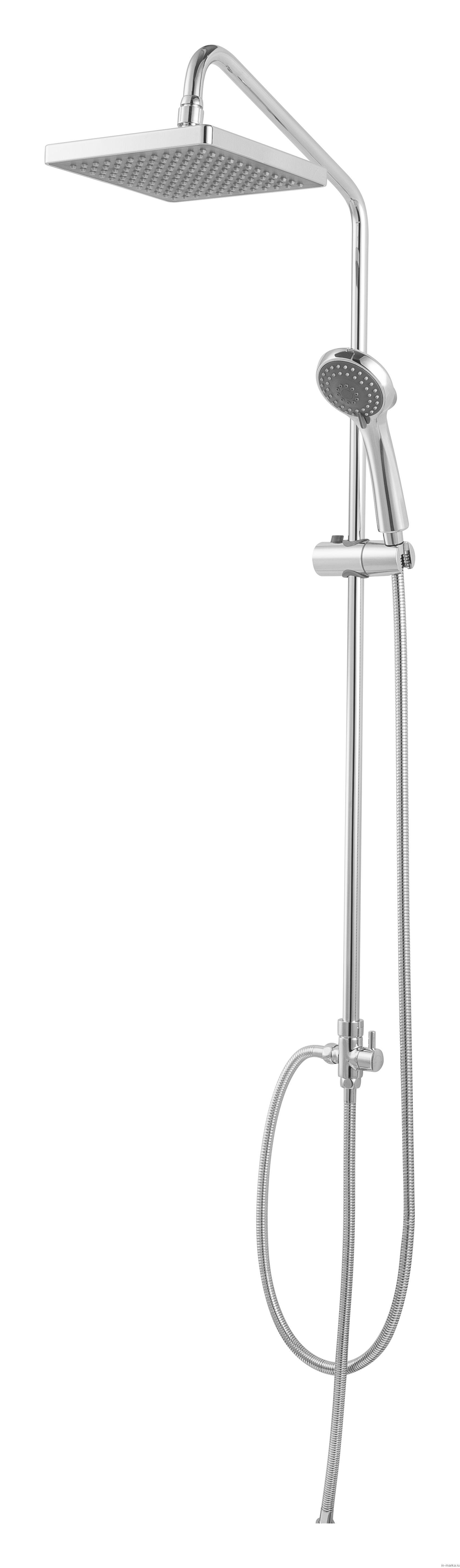 Душевая стойка Bravat Fit D283CP-2A-RUS