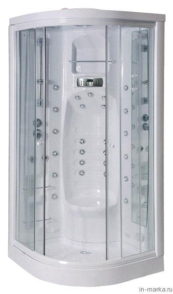 Душевая кабина Aquanet Fiji прозрачное стекло, с баней