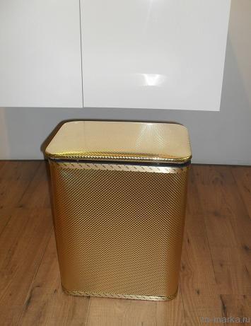 Корзина для белья Koh-i-Noor Redmon 728BG золото