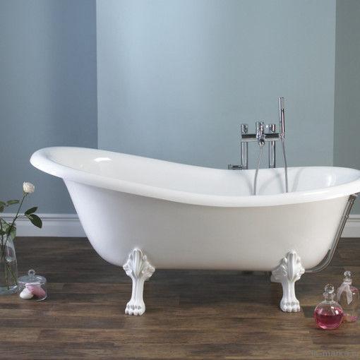 Ванна из искусственного камня Victoria+Albert Roxburgh white