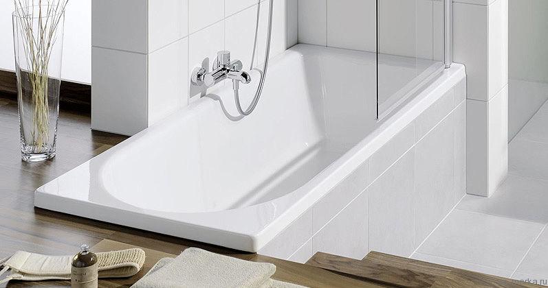 Стальная ванна Bette Ocean 8865 PLUS, AR перелив спереди