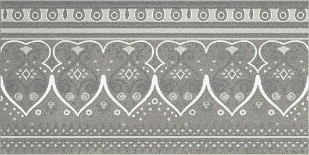 Cenefa5028Grafito (25x50см)